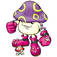 Mushroomon digimon