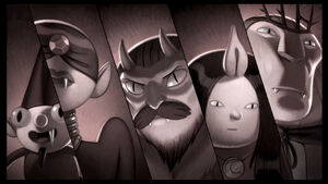 Vampires Adventure Time
