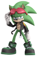 Scourge the Hedgehog Official Artwork