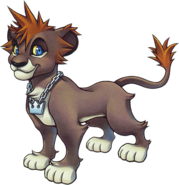 Sora (Lion Form) (Art)