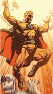 Zoran Sun God (Earth-4290001) from New Avengers Vol 3 16.NOW 001