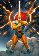 Lion-O with the Sword of Omens