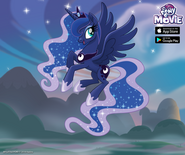 Princess Luna MLP The Movie promotion MLP mobile game