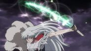 Sesshomaru and Bakusaiga