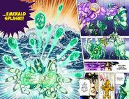 Gemstone Manipulation by Kakyoin's Hierophant Green