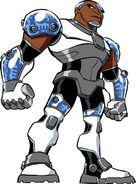 Cyborg Teen Titans Cartoon