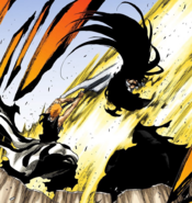 Ichigo True power Getsuga (Bleach)