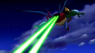 Ultimate Kevin (Ben 10 Ultimate Alien) neuroshock blast