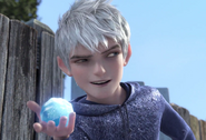 Jack Frost use fun and winter magic