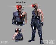 System Shock Cyborg Drone
