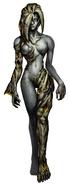 Alexia Ashford (Resident Evil) transform 1