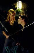 Buffy & Angel Swordfight