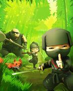 Mini Ninjas forest
