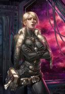 Amberly Vail Ciaphas Cain Warhammer 40K