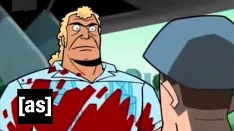 Crocodile Attack The Venture Bros. Adult Swim