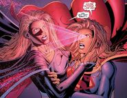 Negative Supergirl 's invulnerability