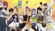 Fairy Tail members reunited