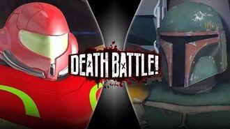 Boba Fett VS Samus Aran (Remastered) DEATH BATTLE!
