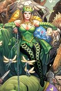Amora (Earth-616) from Totally Awesome Hulk Vol 1 5 cover