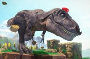 Mario Possessing T.Rex
