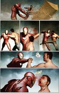 Enhanced Combat By Iron Man