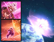 Akuma vs Asteroid