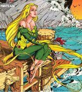 Meggan Puceanu (Marvel Comics) sea