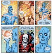 Doctor Manhattan (DC Universe) magic