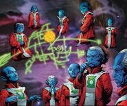 Guardians of the Universe (DC Comics) equations