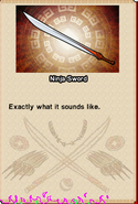 Randy Cunningham Ninja Sword