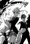 Team Maka and their Weapon Partners