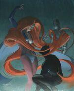 Medusa hair