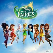 Disney Fairies 8 Girls