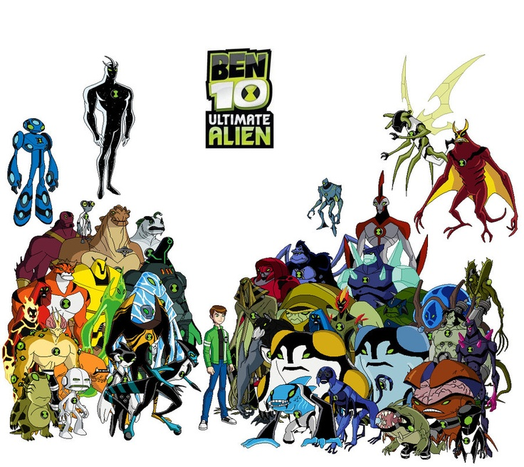 Ben 10 Alien Names List With Pictures Ben 10 Omnitrix Ultimatrix