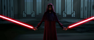 Darth SIdious Dual Wielding (Star Wars)