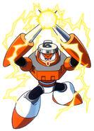 Mega Man Spark Man
