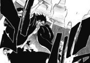 Kenpachi's might