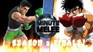 One Minute Melee Little Mac vs Makunouchi Ippo SEASON 2 FINALE FULL VERSION!