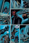 Darth Maul's Force Choke