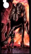 Garm (Earth-616) and Loki Laufeyson (Kid Loki) (Earth-616)