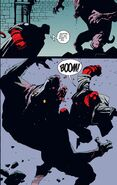 Megaton Punch by Hellboy