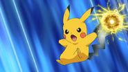 Ash Pikachu Electro Iron Tail