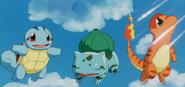 Kanto Starter Clones