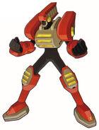 Blast man