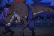 Page One (One Piece) - Spinosaurus
