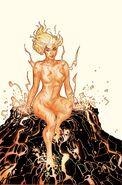 Amara Aquilla - Magma Avengers Vol 1 685 New Mutants Variant Textless