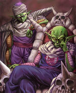 Piccolo Jr and Sr DBZ