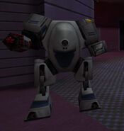 System Shock 2 Security Robot