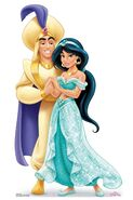 Disney-Princess-Jasmine-and-Aladdin-official-Mini-cardboard-cutout-buy-now-at-starstills 89986.1565193234