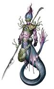 Merfolk Sorcerer Physiology - Thalem